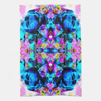 Bright and Colorful Abstract. Kitchen Towel