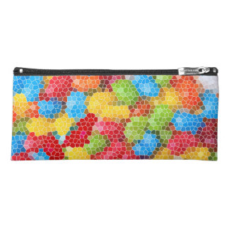 Bright and Colorful Jelly Bean Pattern Pencil Case