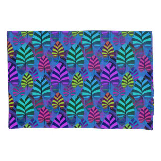 Bright and Colorful Leaf Pattern 767 Pillowcase
