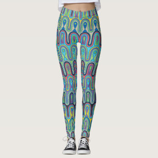 Bright and Colorful Leggings