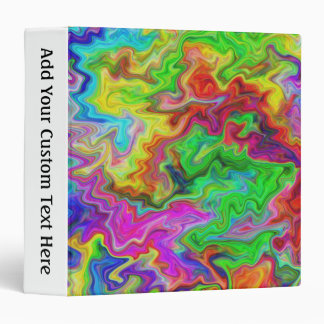 Bright and Colorful Multi Pattern. Binder