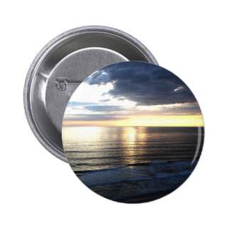 Bright and Colorful Sunset 2 Inch Round Button