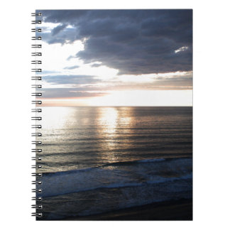 Bright and Colorful Sunset Notebook
