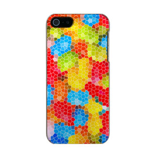 Bright and Colorful Unique Abstract Pattern Incipio Feather® Shine iPhone 5 Case
