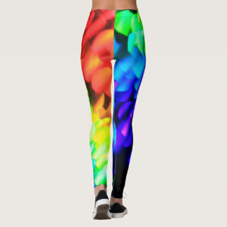 Bright and Colorful Yoga Pants