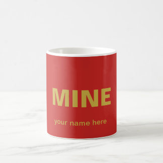 Bright  and easy to find. coffee mug