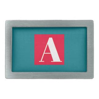 Bright and Elegant Alphabet Monogram Belt Buckle