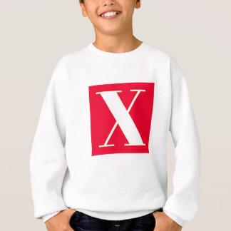 Bright and Elegant Alphabet Monogram Sweatshirt