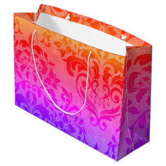 Bright and Festive Large Gift Bag