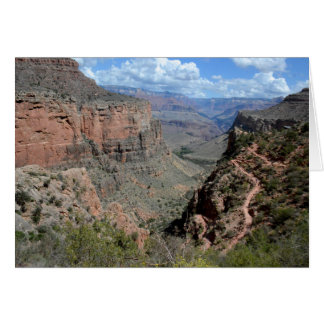 Bright Angel Trail, Grand Canyon Card