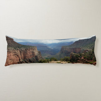 Bright Angel Trail Grand Canyon overlook Body Pillow