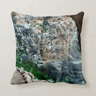 Bright Angel Trail Grand Canyon Throw Pillow