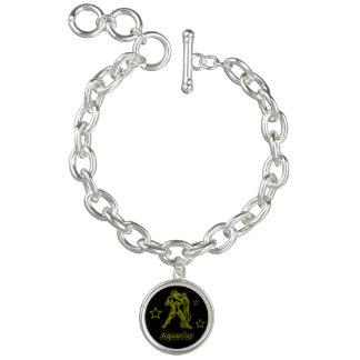 Bright Aquarius Charm Bracelets