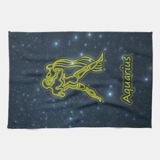 Bright Aquarius Kitchen Towel