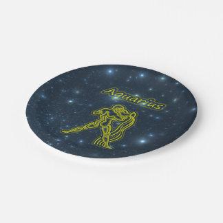 Bright Aquarius Paper Plate