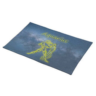 Bright Aquarius Placemat