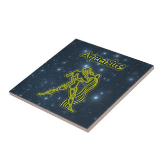 Bright Aquarius Tile