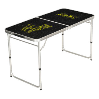 Bright Aries Beer Pong Table