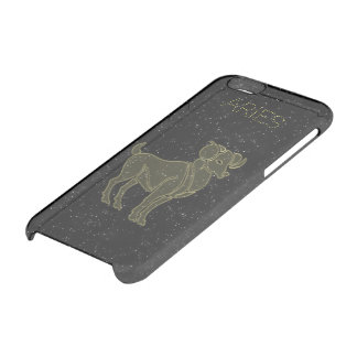 Bright Aries Clear iPhone 6/6S Case