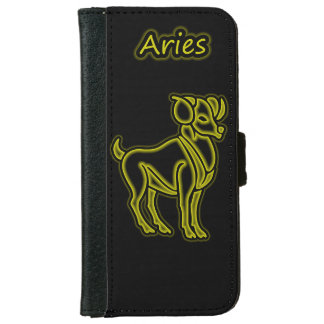 Bright Aries iPhone 6 Wallet Case