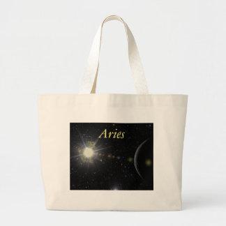 Bright Aries Large Tote Bag