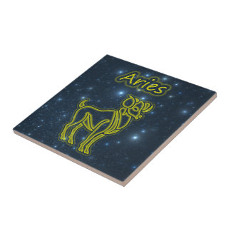 Bright Aries Tile