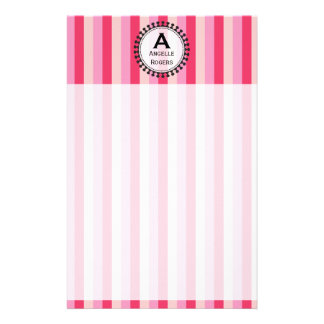 Bright Awnings Pink Stationery
