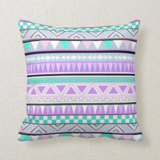 Bright Aztec Andes Pattern Cushion Pillow