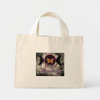 bright blessings mini tote bag