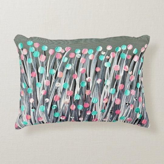 Bright Blooms Accent Pillow