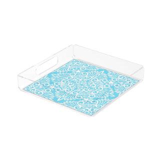 Bright Blue Dream root Acrylic Tray