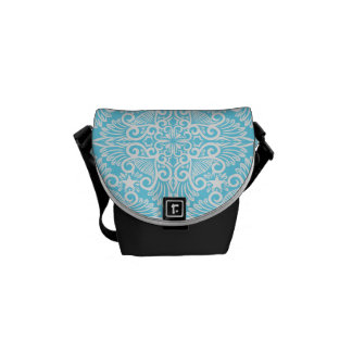 Bright Blue Dream root Commuter Bag