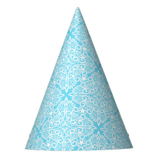 Bright Blue Dream root Party Hat