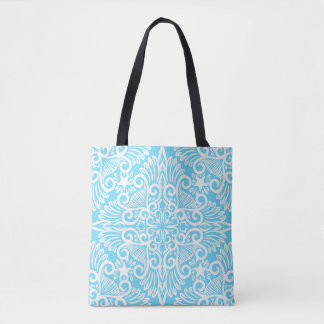Bright Blue Dream root Tote Bag