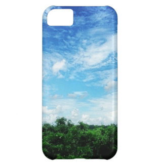 Bright Blue Sky (Nature and Landscapes) iPhone 5C Cover