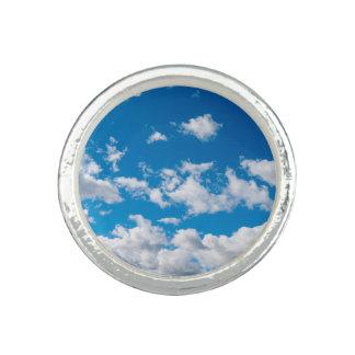 Bright Blue Sky Photo Rings