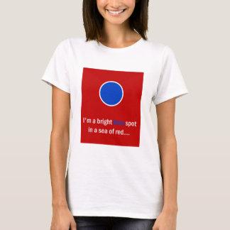 Bright Blue Spot - Democrat T-Shirt
