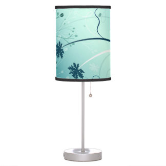 Bright Blue Table Lamp