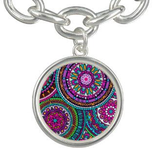Bright Bohemian Boho Hippy Chic Pattern Bracelet