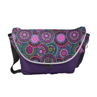Bright Bohemian Boho Hippy Chic Pattern Commuter Bags