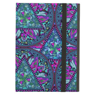 Bright Bohemian Boho Hippy Chic Pattern Cover For iPad Air