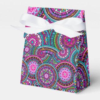 Bright Bohemian Boho Hippy Chic Pattern Favor Box