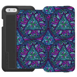 Bright Bohemian Boho Hippy Chic Pattern Incipio Watson™ iPhone 6 Wallet Case