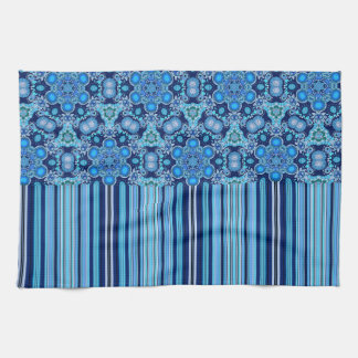 Bright Bohemian Boho Hippy Chic Pattern Kitchen Towel