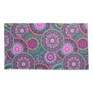 Bright Bohemian Boho Hippy Chic Pattern Pillowcase