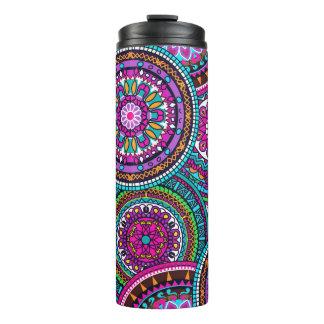 Bright Bohemian Boho Hippy Chic Pattern Thermal Tumbler