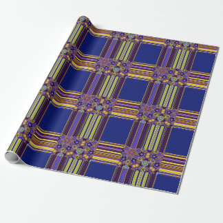 Bright Bohemian Boho Hippy Chic Pattern Wrapping Paper