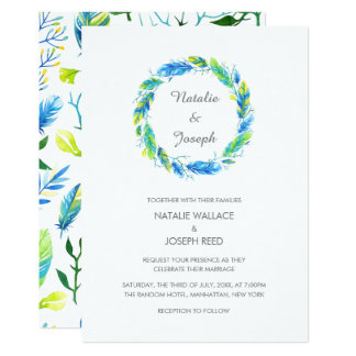 Bright Boho | Modern Wedding Invitation