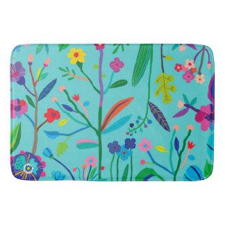 Bright, Bold Flowers Bath Mat
