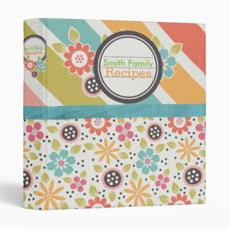 Bright & Bold Recipe Binder